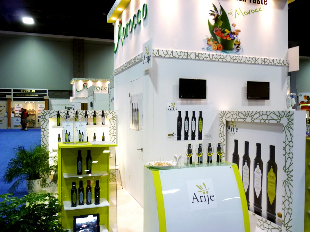 Stand au Salon International Fancy Food Show Washington 2012