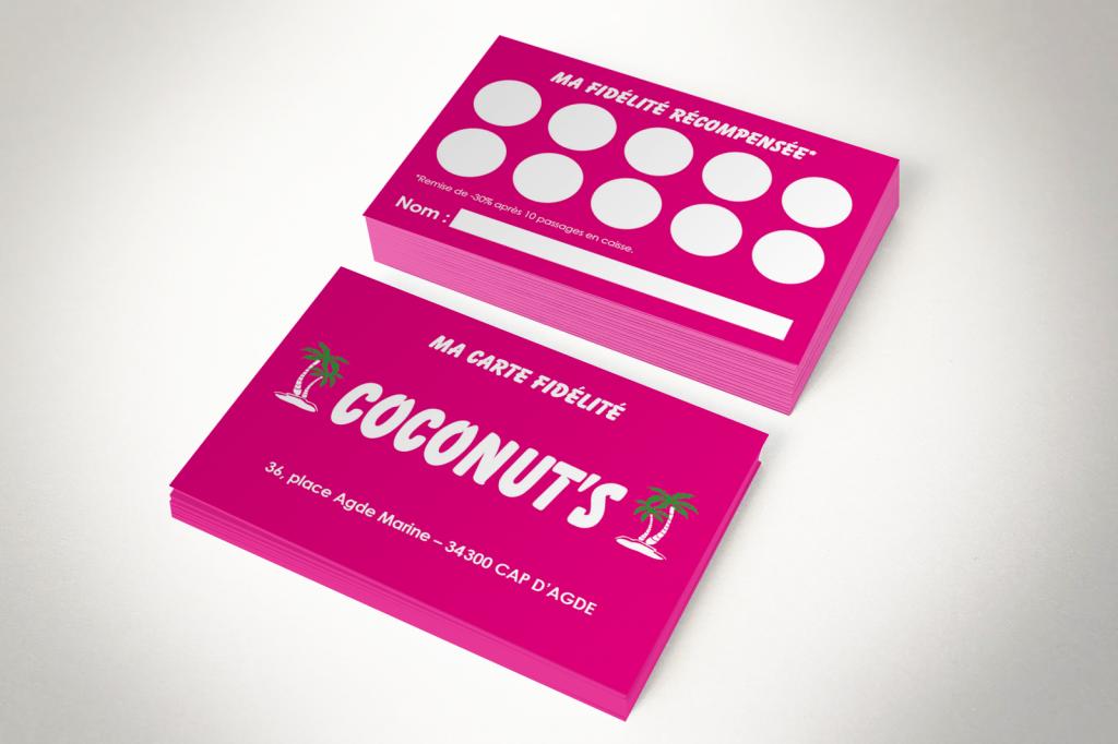 Carte de fidélité Coconut's