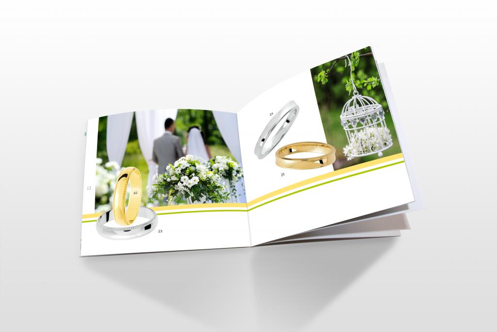 Double page intérieure du catalogue Amore 2014