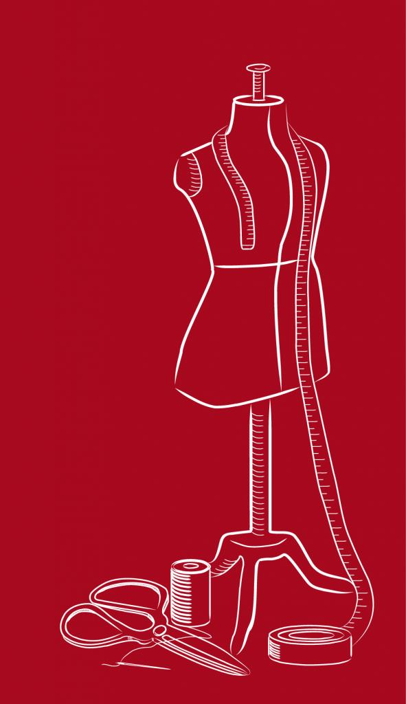 Recherches de pictogrammes sur le thème de la couture et de la retouche